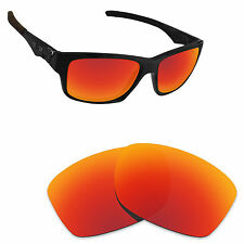 Hawkry Polarized Replacement Lenses for-Oakley Jupiter Squared Orange Red