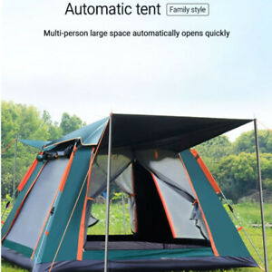 Outdoor 6-7 Person Instant Automatic Cabin Hiking Tent Waterproof Camping Pop up