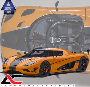 PREORDER - AUTOART 79023 1:18 KOENIGSEGG AGERA RS (CONE ORANGE/CARBON) SUPERCAR