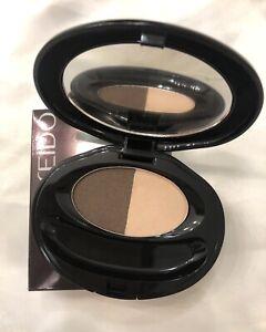 Shiseido The Makeup Eye Shadow Duo (5 Deep Brown) 0.14oz/4g BNIB *No Applicator*