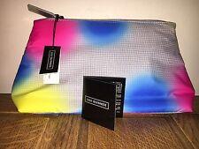 Lulu Guinness Designer Weekend Clutch make up bag Holiday BNWT Pink RRP £65 Grab