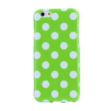 Polka Dot spotted Suave Tpu Funda Protectora Para Apple Iphones Y Samsung Galaxy