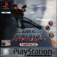 Time Crisis Project Titan Platinum - PS1 Playstation 1