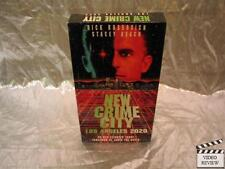 New Crime City (VHS, 1994) Rick Rossovich Stacey Keach