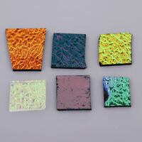 1 Oz Dichroic Glass Scrap COE90 Fusible Glass Kiln Fusing DIY Jewelry Supply