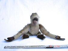 Alter Plüsch Spielzeug Mungo Affe mit beweglichen Gliedern