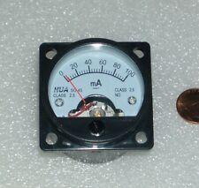 Analog Panel Meter Dc 0 100 Ma Ampermeter So 45 Dc Ammeter 0 100ma