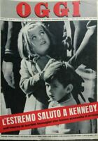 OGGI N.49  1963 FUNERALI DI KENNEDY
