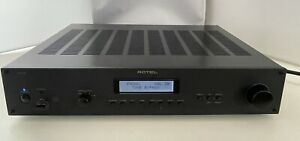 Rotel RA12 60W Integrated Amplifier USB & Phono Inputs - Black Amp