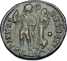ARCADIUS crowned by Victory 395AD Cyzicus Authentic Ancient Roman Coin i65882