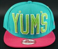 NEW ERA YUMS 9Fifty Adjustable Snapback Basketball Baseball Hat Cap yumslife