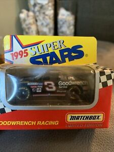 MATCHBOX SUPER STARS #3 Dale Earnhardt 1995 GM GOODWRENCH 1/64