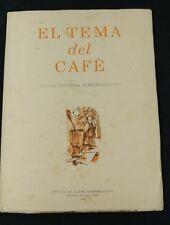 El Tema Del Cafe .Instituto de Cultura Puertorriqueña .Puerto Rico .1965.