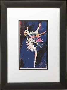"LeRoy Neiman ""Prima Ballerina Assoluta Cynthia Gregory"" CUSTOM FRAMED Art Print"