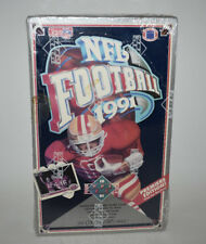 Factory Sealed Box 1991 Upper Deck NFL Football Trading Cards