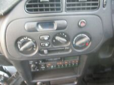 Mitsubishi lancer coupe 05/97 Airconditioner heater dash control panel clock