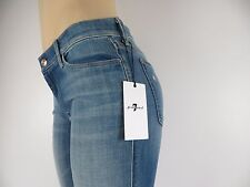 NWT 7 SEVEN FOR ALL MANKIND JEANS, The Skinny Bootcut, BLBT, Size 25, $198
