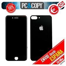 Pantalla LCD + Tapa trasera bateria iPhone 8 Plus 5,5 Negra Calidad testeada
