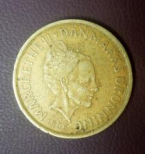 DENMARK 20 KRONER 1996 Margrethe II ' VF-EF '.
