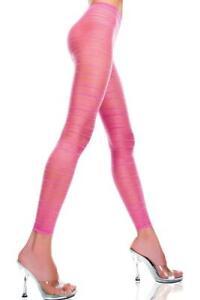 sexy MUSIC LEGS ultra SHEER striped FOOTLESS tights PANTYHOSE leggins STOCKINGS