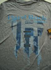 HRC Hard Rock Cafe Mykonos Grey Guitar Flag Tee Silverado Size S Girl New NWT