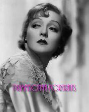"NANCY CARROLL 8X10 Lab Photo B&W 1933 ""KISS BEFORE THE MIRROR"", Glamour Portrait"