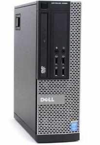 DELL OPTIPLEX 9020 SFF PC i7-4770 3.4GHZ QUAD / 16GB DDR-3 / DVD-R/RW / NO HDD