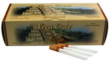 5 (Five) Vera Cruz Elegante Cigarette Tubes (200ct per Carton) RYO/MYO