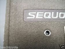 2005-2007 SEQUOIA CARPET FLOOR MATS-TAUPE PT206-0C050-09 GENUINE TOYOTA