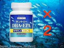 F/S, LOT2 Suntory DHA & EPA + Sesamin EX, Fish Oil for 60 days import from Japan