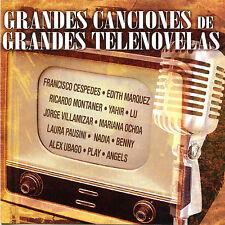 CD-  Grandes Canciones de Grandes Telenovelas- Warner 2007- Mexican Soap Operas