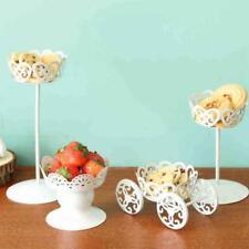 Vintage Metal Wedding Cupcake Stand Cake Dessert Holder Display Party Decor 1pcs