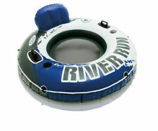 Intex River Run 1 Person Inflatable Floating Tube Raft for Lake/Pool (Used)