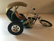 VINTAGE ORIGINAL 1/8 SCALE 1960'S REVELL BUILT MOTORCYCLE MODEL KIT