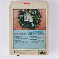 Sonny & Cher Once In A Lifetime (8-Track Tape, R 311)