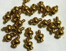 LOT Music Jewelry Box Clock Woodworking Craft Hardware Brass Ball Feet 20 Pieces