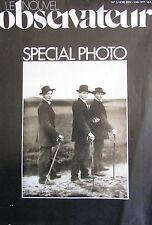 RARE LOT des 5 N° HORS SERIE SPECIAL PHOTO LE NOUVEL OBSERVATEUR de 1977 à 1979