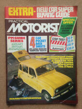 Practical Motorist Cars, 1970s Magazines in English