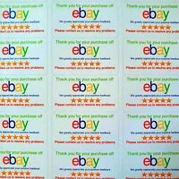 "EBAY ""THANK YOU FOR BUYING"" SELLER STICKERS LABELS"