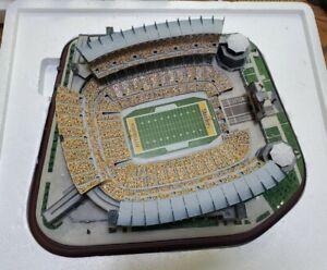 RARE Danbury Mint Pittsburgh Steelers Large Stadium LIGHTED NFL NEW Unused Heinz