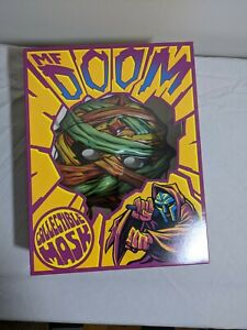 MF DOOM Collectible Mask Mummy SOLD OUT Rap NEW Limited Edition Box Confirmed