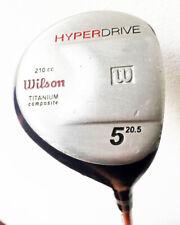 Wilson Hyper Drive 210cc Titanium 5 Wood 20.5* Graphite Firm Flex RH Golf Club