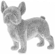 26cm Glitzy English British Bulldog glitter diamante ornament figurine sculpture