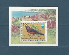 Madagascar  bloc  expo océanographique  oiseau    1975  num: 8  **