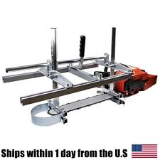 Chainsaw Mill portable 304 Steel Planking Lumber Cutting Milling (14