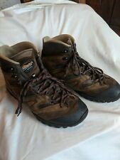 Cabelas Meindl Brown Multigrip Leather Hiking Hunting Boots Shoes Size 11 Men's