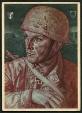 Artist Signed WOLFGANG WILLRICH  07  GERMANY  THIRD REICH  MILITARY  Postcard