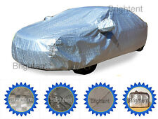 100% Waterproof Deluxe 10 Layer Full Car Cover Soft Lining UV Protection GCHH3