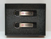 ⭐ Set of 2 Toyota Key Chain Fob Ring - Dealership Promo - Bennett Allentown, PA