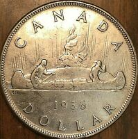 1936 CANADA SILVER DOLLAR COIN